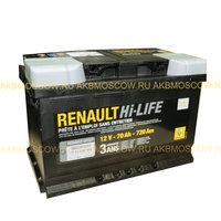 Аккумулятор автомобильный RENAULT 70Ач 7711 238 59
