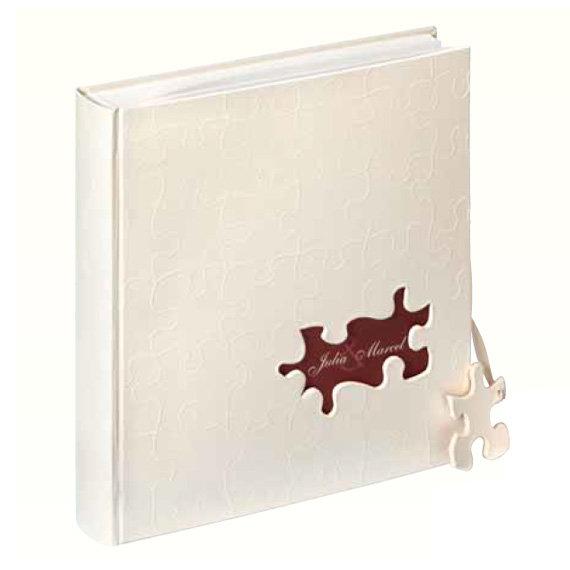 Фотоальбом WALTHER классический 28x30,5 см 60 страниц PUZZLE, белые страницы