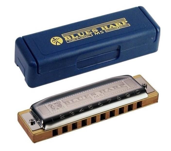 Губная гармошка hohner blues harp 532/20 ms c