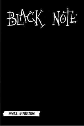 Блокнот. Black Note.Креативный блокнот с черными страницами 138x212, 192 стр.