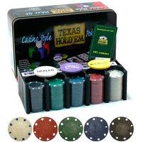 Набор для покера с сукном Holdem Lite 200