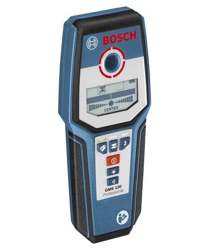 Детектор металлов и проводки Bosch GMS 120 Professional [0.601.081.000]