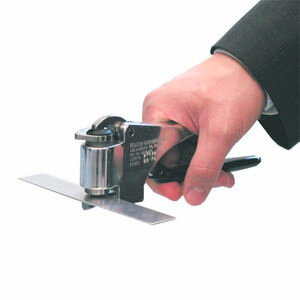 """Модель В-75 - твердомер Вебстер (Webster) для латуни, жёстких сплавов алюминия и мягкой стали (Модель с увеличенным размером захвата для измерения изделий толщиной от 0,03"""" (0,8 мм) до 5/8"""" (15,9 мм) до 1"""" (25,4 мм).)"""