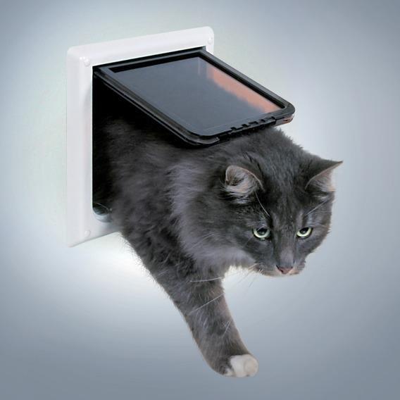 """Дверца для кошки """"FreeCat de Luxe"""", 17,7х18,7 см"""