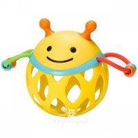 Skip Hop Мяч-погремушка Пчела Бруклин с прорезывателем 16.5 см SH 303102