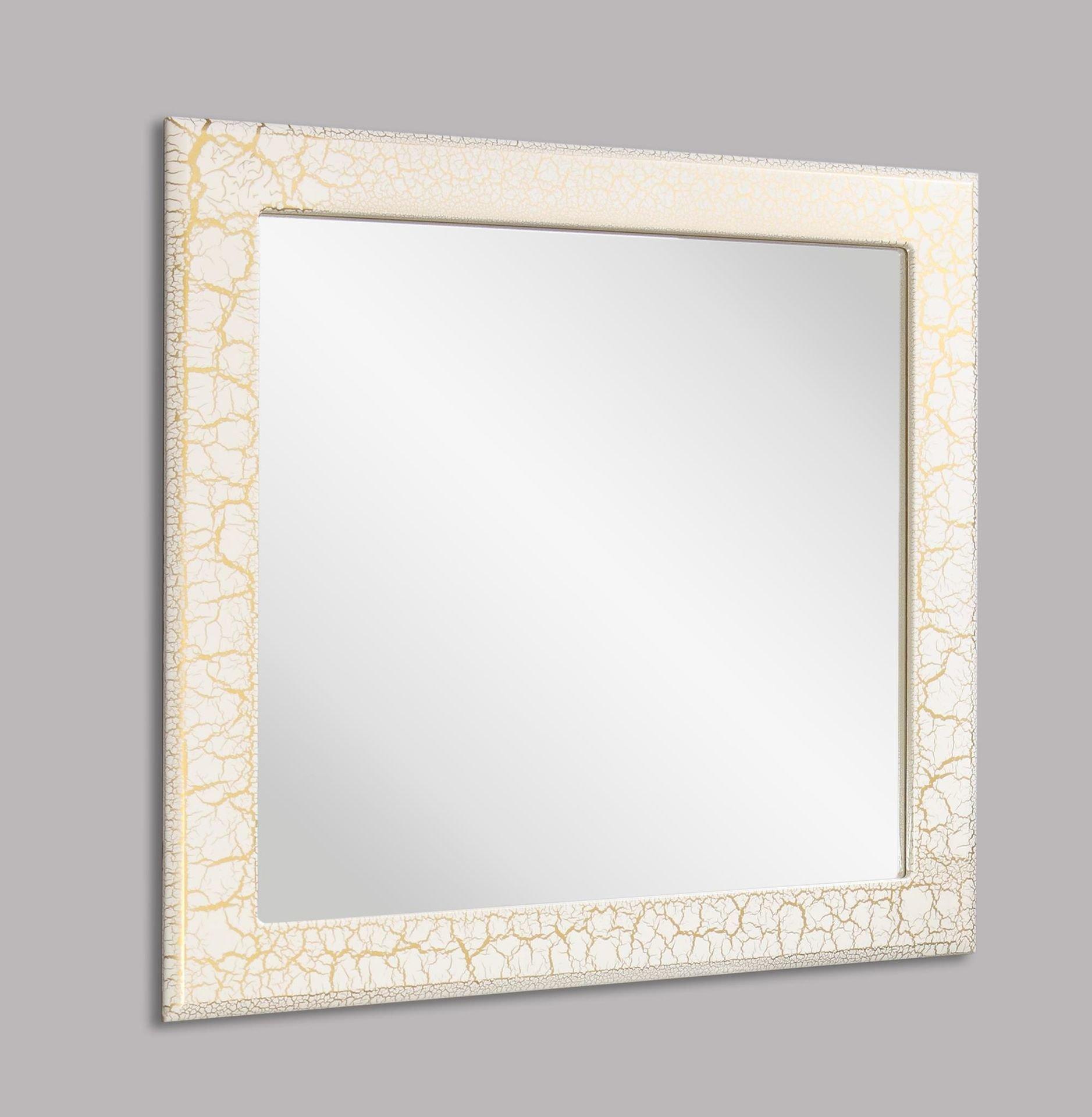 Зеркало НОРТА Терра 86 Белый/Золото 618