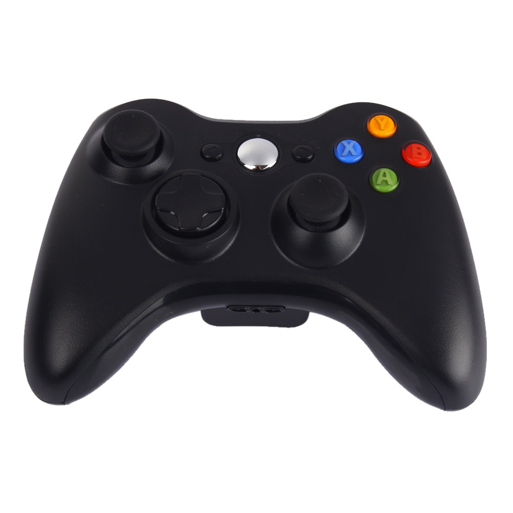 Джойстик для Microsoft Xbox 360 беспроводной (Черный)