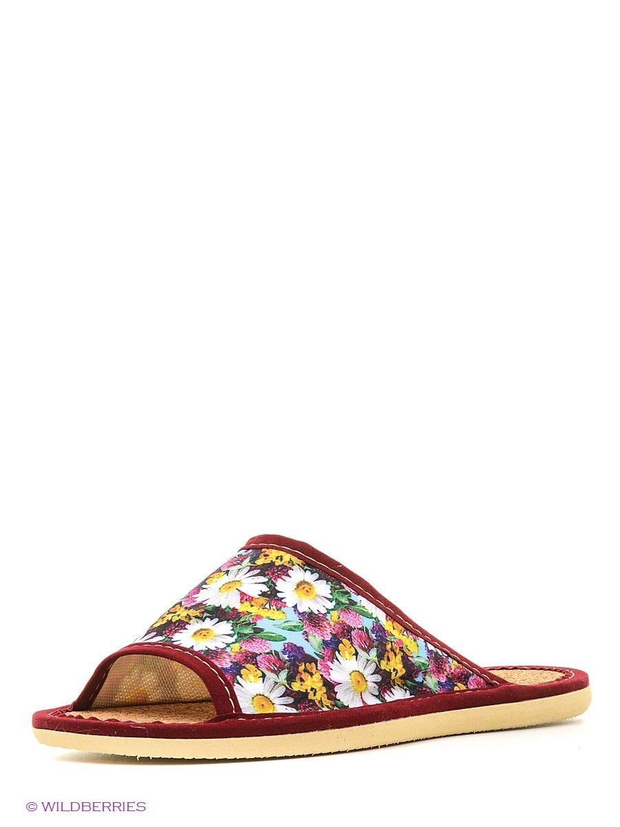 Тапочки ШК обувь Д-1-1/крассный