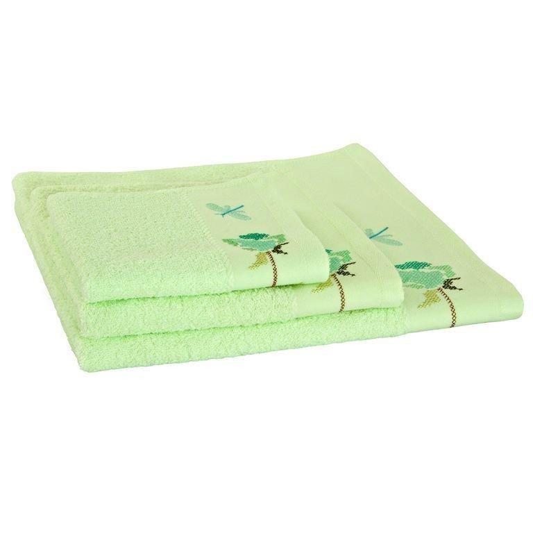 полотенце махровое WELLNESS Полотенце махровое Роза 100% хлопок