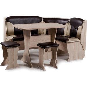 Набор мебели для кухни Бител Орхидея - комби (ясень с-221 + с-101, ясень)