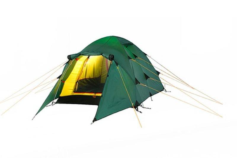 Треккинговая палатка Alexika «Nakra 3»
