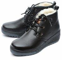 •женские ботинки натуральная кожа натуральный мех gugu