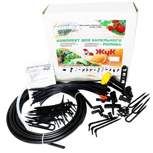 Система для капельного полива Жук от емкости на 60 растений (теплица)