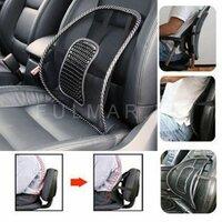 Поясничный подпор водительского кресла в автомобиль Массажная накладка