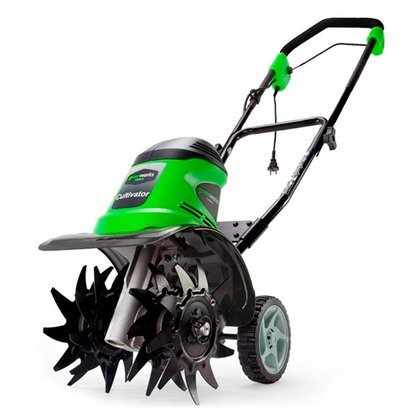 Культиватор электрический Greenworks GTL9526 950 Вт