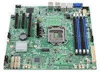 Серверная материнская плата INTEL S1200SPSR (LGA1151, microATX)