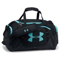 Сумка спортивная Under Armour Undeniable 3.0 Small (42 л) водонепроницаемая с карманом для обуви черная 1300214-002