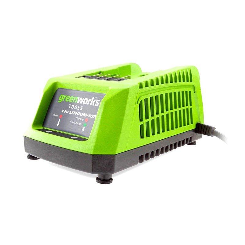 Зарядное устройство Зарядное устройство Greenworks 24V G24C