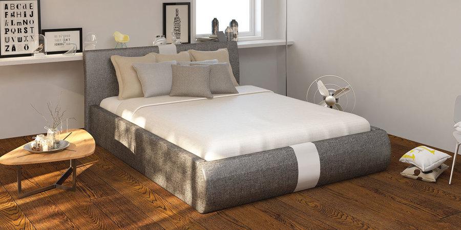 Кровать мягкая 200х160 HomeMe Флора