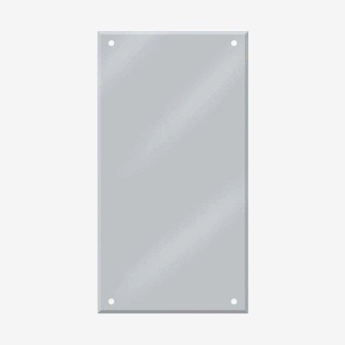 ЗП-2 Зеркало(зеркальное полотно) 900х550мм, толщина 6мм - ЗП-2