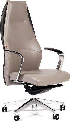 Кресло CHAIRMAN Basic, Светло-серый/темно-серый