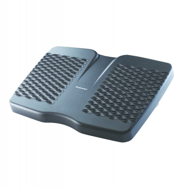 Вентилируемая подставка для ног FELLOWES Refresh, черная, пластик
