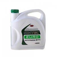 Антифриз SINTEC EURO G11 готовый -40C зелёный 5 л