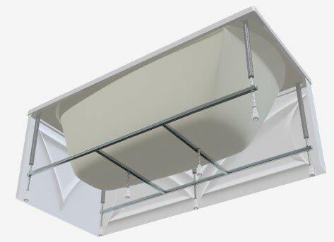 Каркас для ванны 1Marka Modern 120 x 70 120 / 70 см