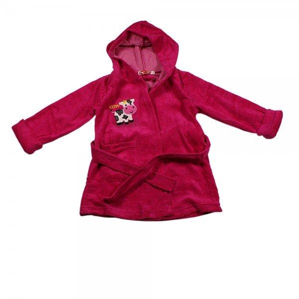 Bonito Kids Халат детский для девочки розовый