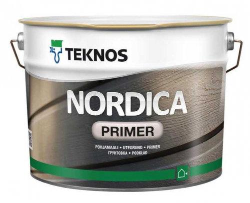Teknos NORDICA PRIMER грунтовочная краска , 0.9л