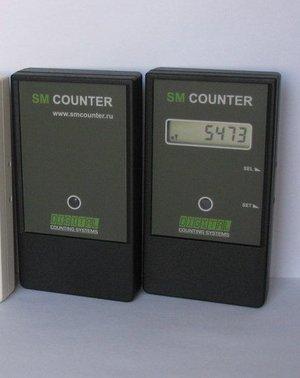 SM Counter автономный счетчик посетителей (черный)