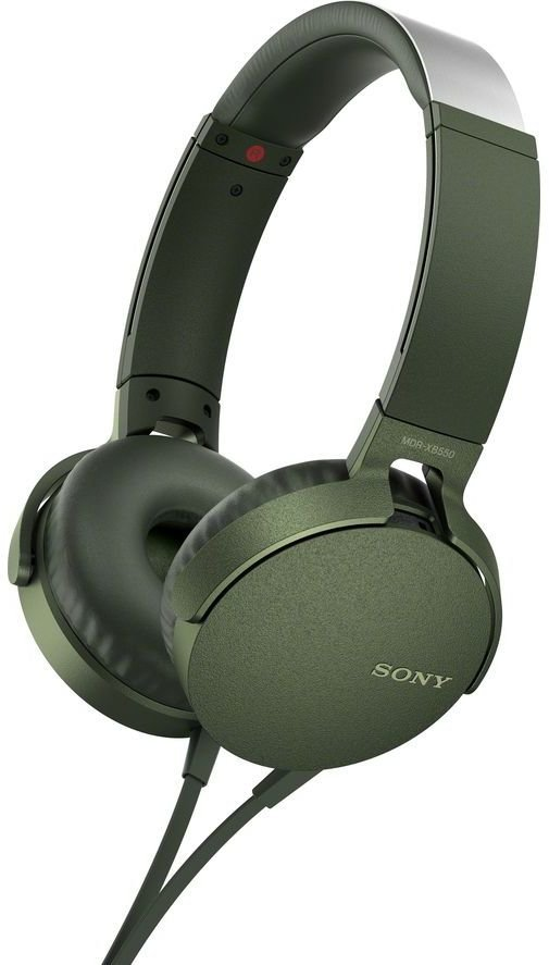 Наушники Sony MDR-XB550AP (зеленый)