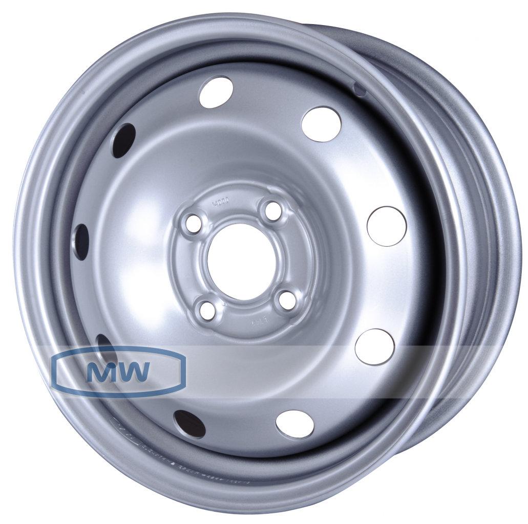Колесные штампованные диски Magnetto 14000 5.5x14 4x100 ET43 D60.1 Серебристый (14000)