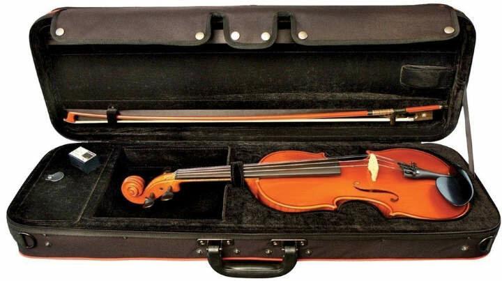 GEWA O.M. Monnich Violin Outfit 4/4 скрипка в комплекте (футляр, смычок, канифоль, подбородник)