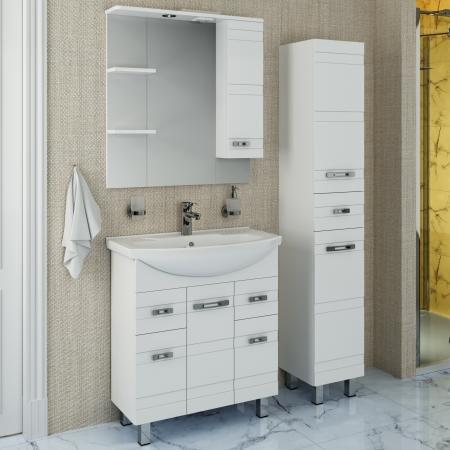 Мебель для ванной Runo Турин 75