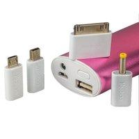 Аккумулятор внешний универсальный Yoobao Magic Wand Power Bank YB-6014Pro (USB выход: 5V 2.1A) Pink 10400 mAh ORIGINAL