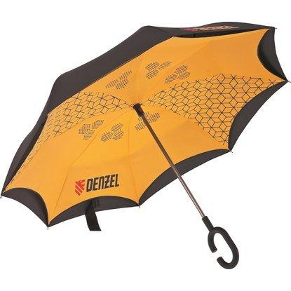 Зонт-трость обратного сложения Palisad с покрытием Soft Touch