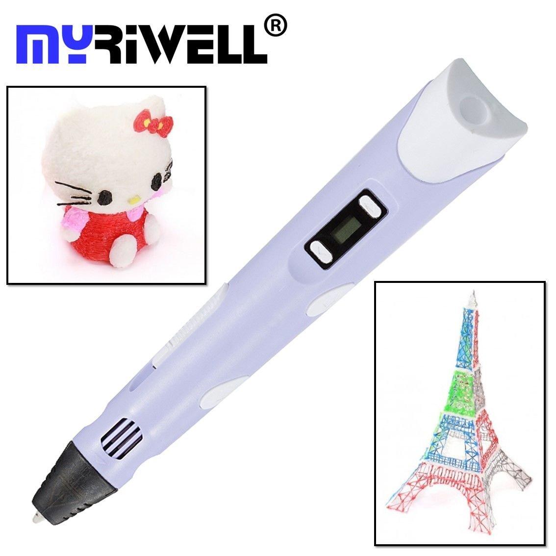 3D ручка MyRiwell RP100B (фиолетовый)   3D ручки