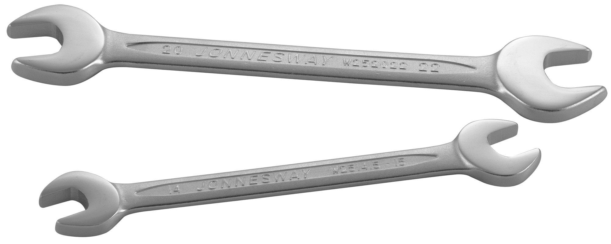 Ключ гаечный рожковый 27x32 мм Jonnesway W252732