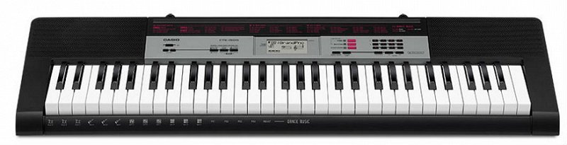 CASIO CTK-1500 cинтезатор 61 клавиша, 120 тембров, обучающий режим