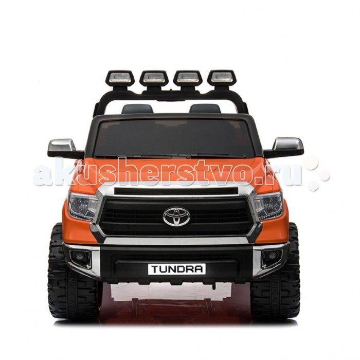 Электромобиль RiverToys Toyota Tundra JJ2255 Оранжевый