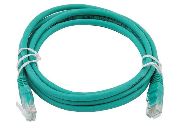 Патчкорд Cable Patch Cord 0.5m Green