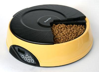 Автоматическая кормушка для кошек и собак с ЖК дисплеем PF2