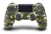 Джойстик беспроводной Sony DualShock 4 v2 Camouflage (Зеленый камуфляж) (PS4)