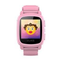 Детские часы-телефон с GPS-трекером Elari KidPhone 2, цвет розовый