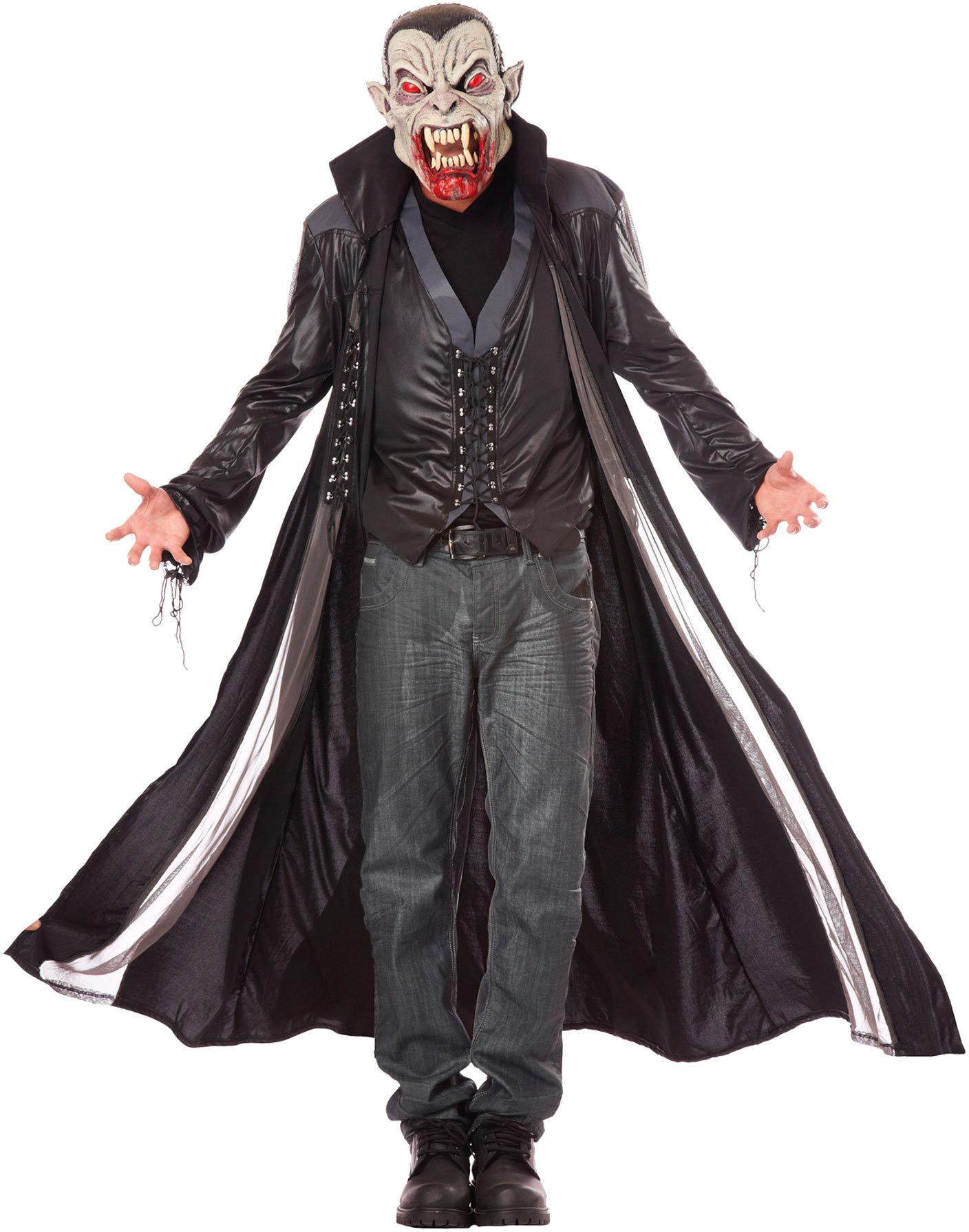 Аксессуар для праздника California Costumes Маска Кровожадный вампир, универсальный