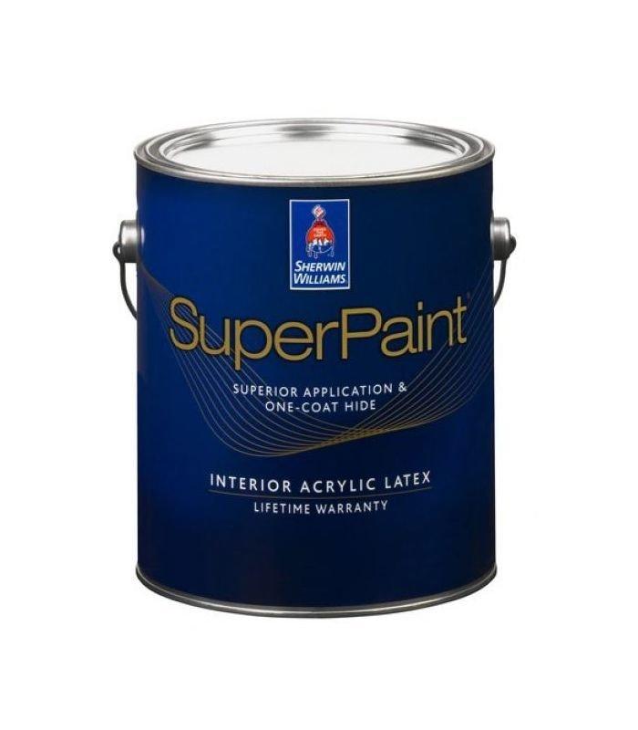 Краска для стен и потолка Sherwin Williams SuperPaint interior латексная