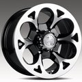 Колесные диски Racing Wheels H-276 8,0\R17 6*139,7 ET20 d67,1 BK F/P [86000642069] - фото 1