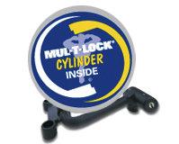 """Блокиратор КПП Mul-t-lock Фортус 2050 (A / двигатель - 8 клапан.) на автомобиль Лада Ларгус с 2012 г.в. механика 5 ступеней """"R"""" назад"""