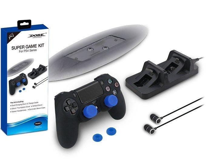 Набор аксессуаров для PS4 (Super Game Kit) (TP4-1751)